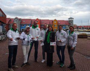 Foto D66 Westerkwartier in de Reitdiepwijk