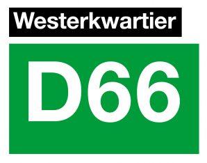 Logo D66 Westerkwartier
